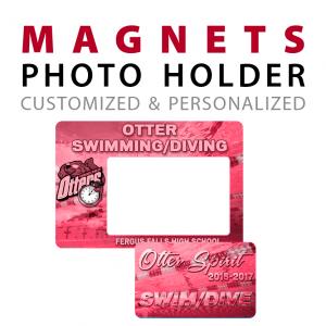 custom photo holder magnets