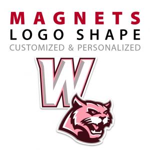 custom logo shape magnets
