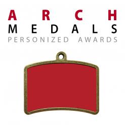 custom arch medals