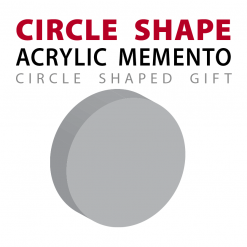 custom circle ball shape acrylic memento gift