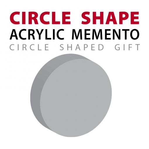custom circle ball shape acrylic memento gift