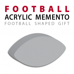 custom acrylic official football replica memento gift
