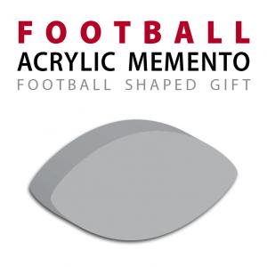 custom acrylic official football replica memento gift