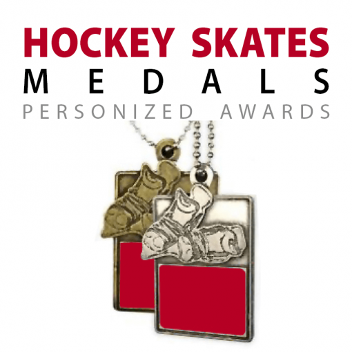 custom hockey skate medals