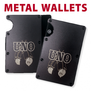 Metal Wallet Engraving