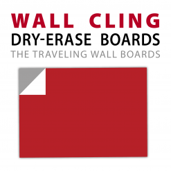 Wall Cling Dry-Erase Products