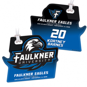 Volleyball Bag Tags
